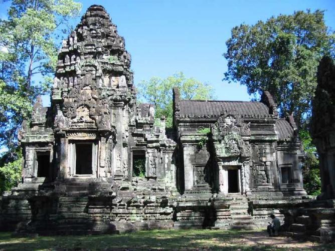 A temple in Cambodia