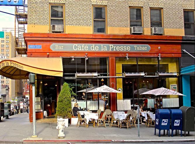 Café de la Presse | ©marcomazzei/flickr