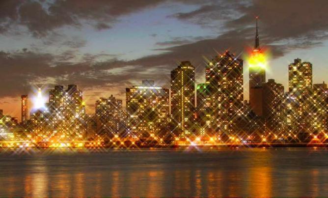 skyline of Midtown