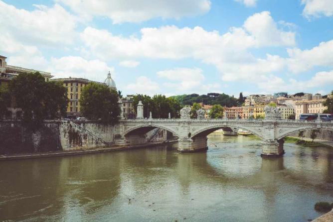 Tiber in Rome | Courtesy of Elena Pagnoni