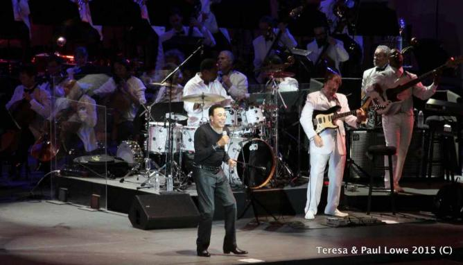 """William """"Smokey"""" Robinson Jr. performed over the July 4th Holiday at The Hollywood Bowl"""