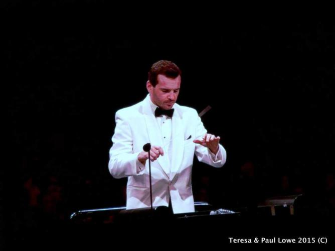 Conductor Lionel Bringuier leads the Los Angeles Phil Harmonic Classical Orchestra