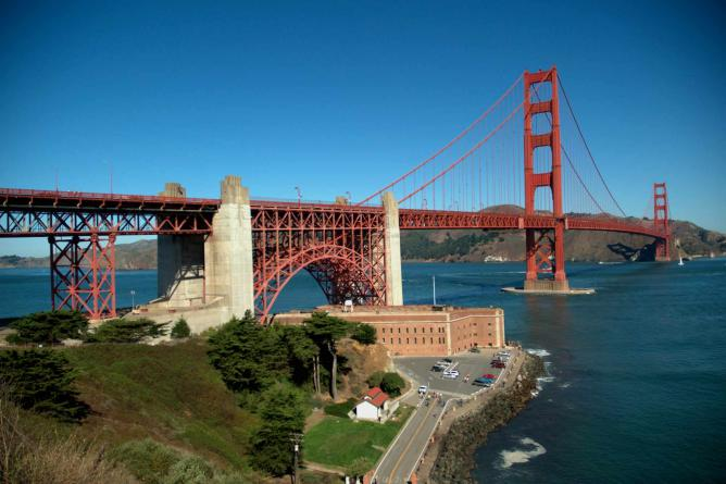 View from Presidio   © Guillaume Paumier/Wikimedia