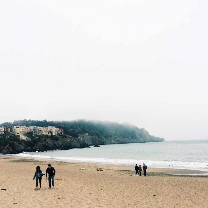 Baker Beach | © Margot McKelvie