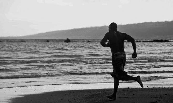 Running Man   © Graham Crumb/Wikimedia