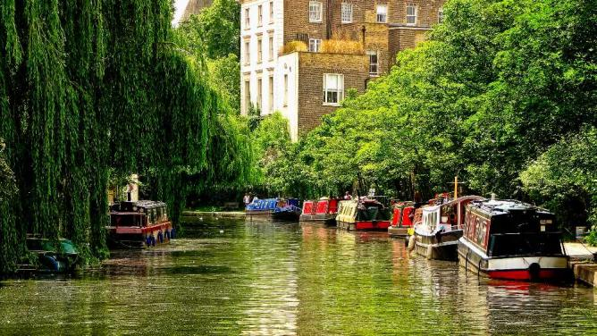 Regent's Canal | © Garry Knight/Wikicommons