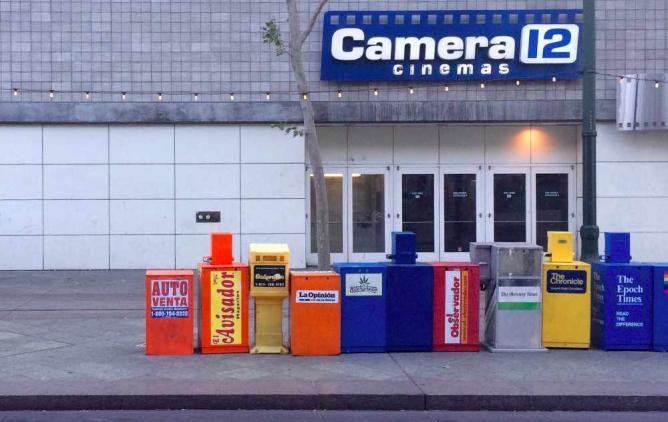 Camera 12 Cinemas | © Kristine Xu