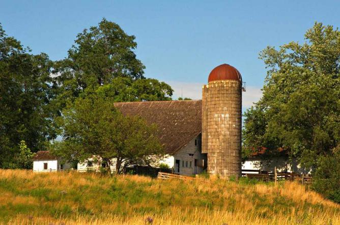 Old barn on the edge of Ankeny | © Carl Wycoff/Flickr