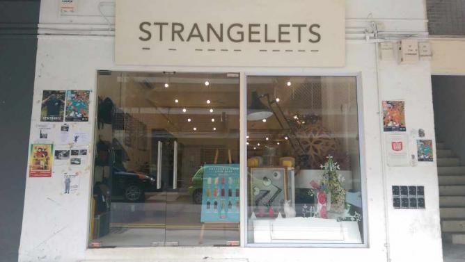 Strangelets shopfront