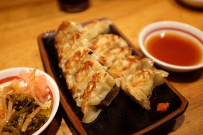 Gyoza at Ippudo Ramen | © Min Zhou/Flickr