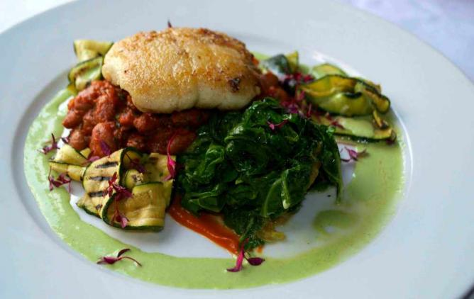A heavenly gourmet seafood dish | Courtesy of Marianna Hunt