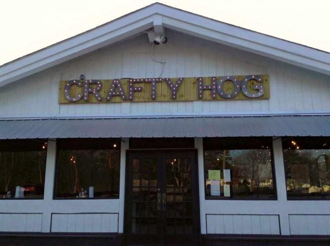 The Crafty Hog Exterior | © The Crafty Hog