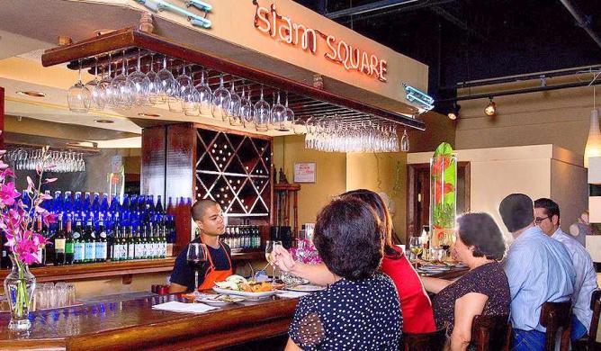 Siam Square Interior | © Siam Square Thai Cuisine