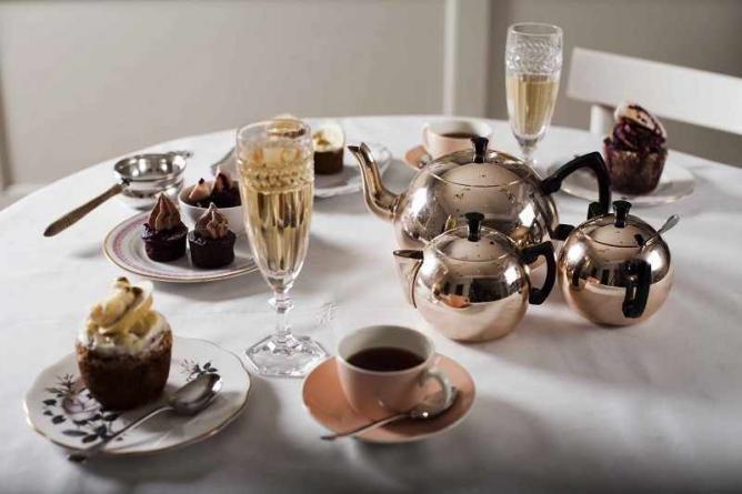 Sweet treats for tea   © The Modern Pantry