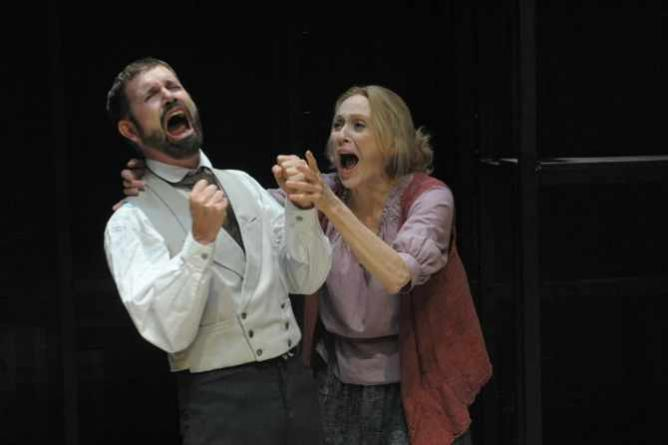 David Barlow and Jan Maxwell | Courtesy of Potomac Theater Project