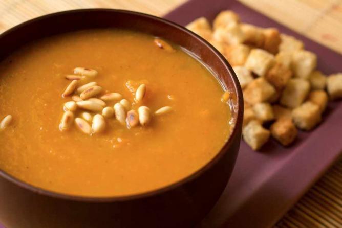Carrots & Apples soup