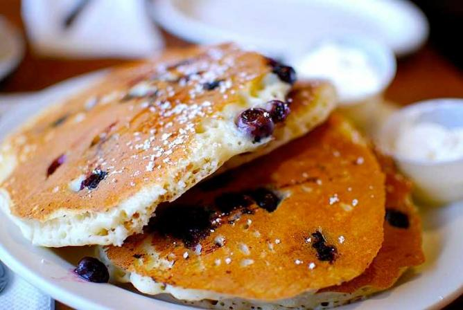 Blueberry Pancakes | © Fæ/Flickr