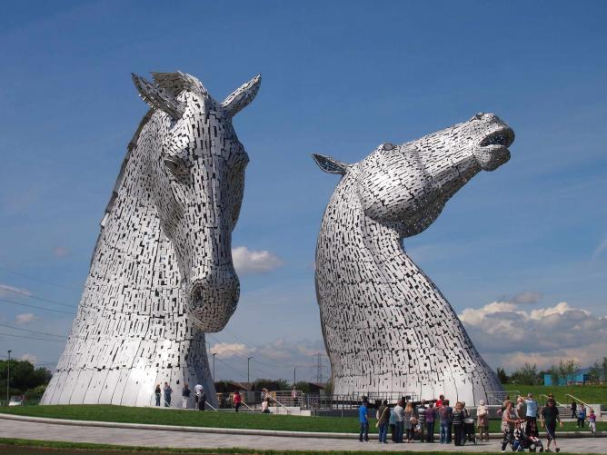 The Kelpies | © The Helix/Wikicommons