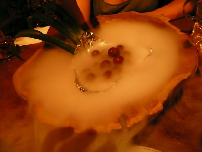 Dry ice fruit at Pure Lotus © Cory Doctorow/Flickr