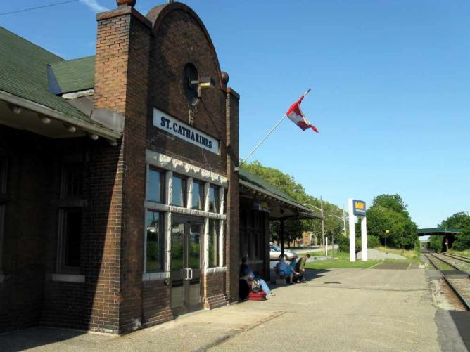 St Catharines VIA Rail Station | © Balcer/WikiCommons