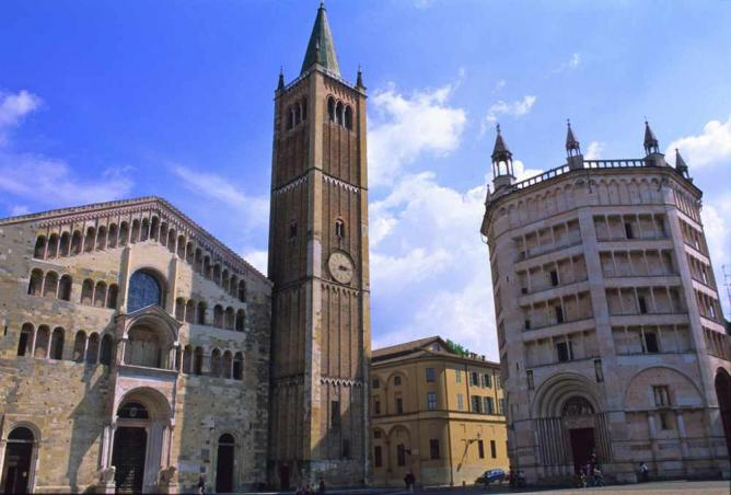 Parma's Cathedral and Baptistery | © Christopher Wood/Flickr