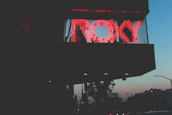 The Roxy Theater | © Neda Kerendian