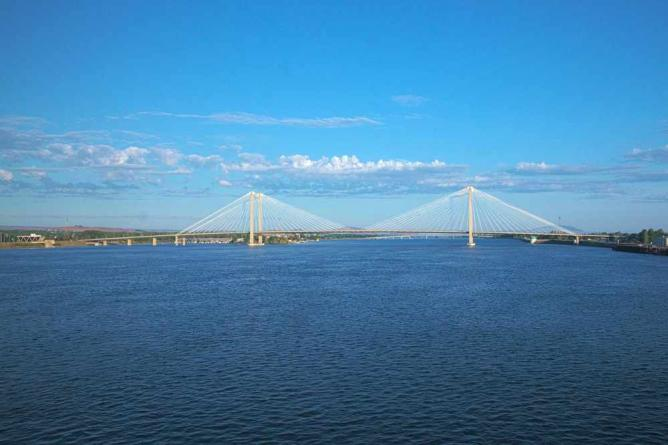 Cable Bridge in Pasco   © Michael Hicks/Flickr