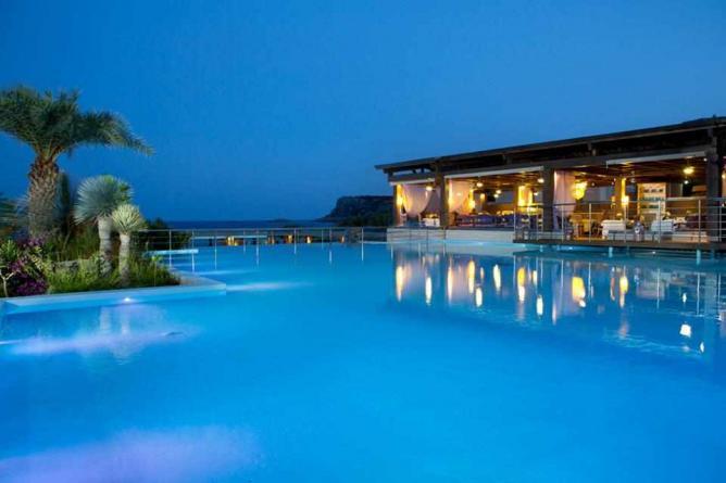Large outdoor swimming pool | Courtesy of Aqua Grand Resort
