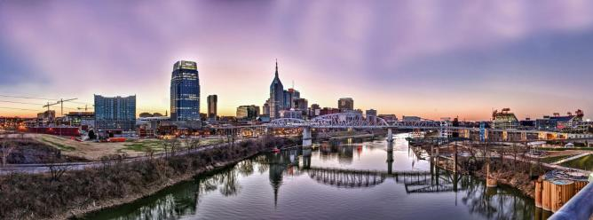 Nashville skyline | © Jason Mrachina/Flickr
