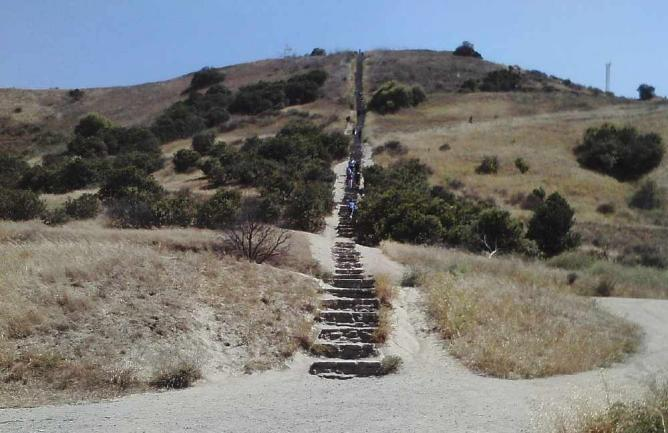 Baldwin Hills Stairs | © WikiCommons