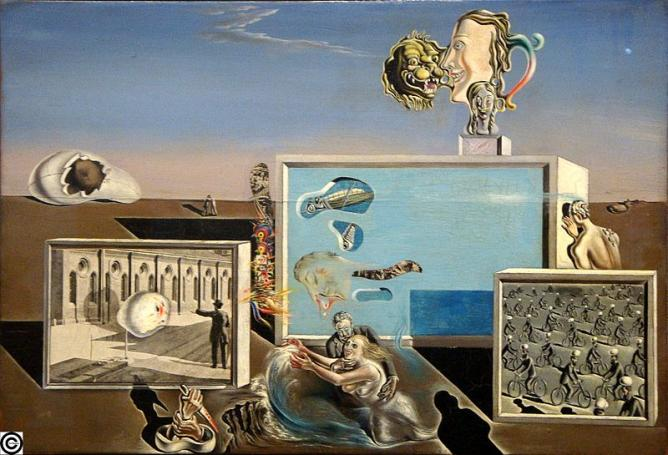 Illumined Pleasures, Salvador Dalí | © MrArifnajafov/WikiCommons