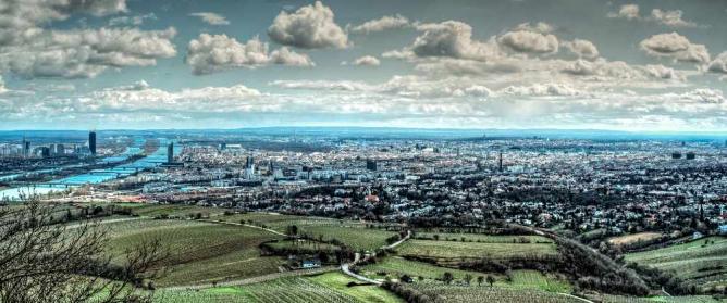 Panorama of Vienna © Franz Jachim/Flickr