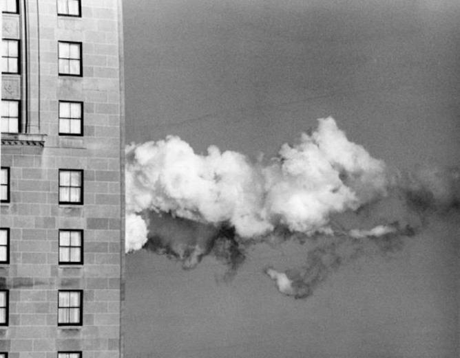 Corkin Gallery - André Kertész, Buenos Aires, Mexico, New York, Toronto,Royal York Hotel from Window of Jane Corkin Gallery, 1979 | Courtesy Corkin Gallery