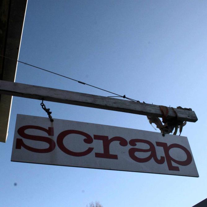 SCRAP Sign   (c) Orin Zebest/Flickr