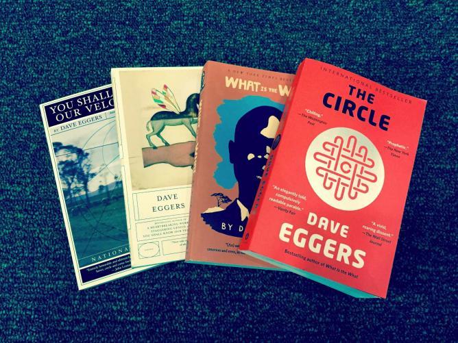 Dave Eggers novels   © Danika Peterson