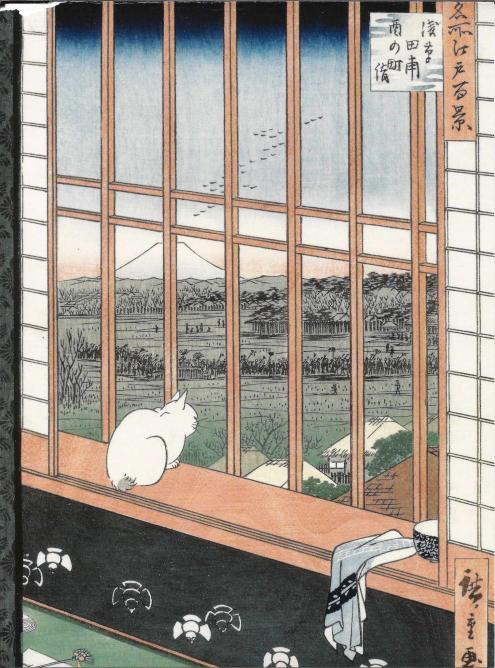 Utagawa Hiroshige's Cat in a Window