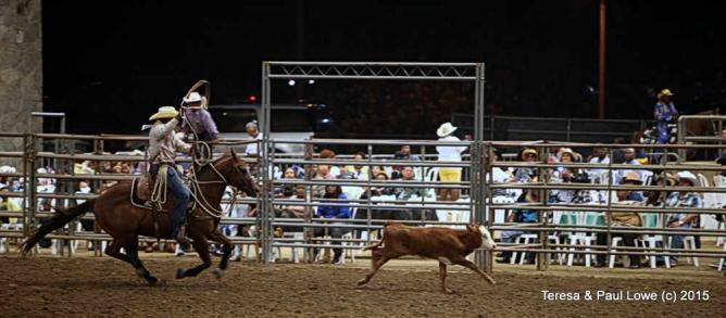 African american cowboys compete in the roping competition | ©BillPicketRodeo