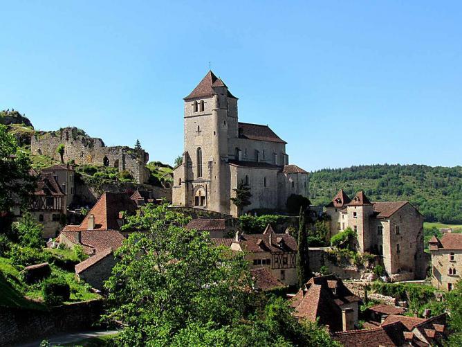 Saint-Cirq-Lapopie | © Jojob.47/WikiCommons