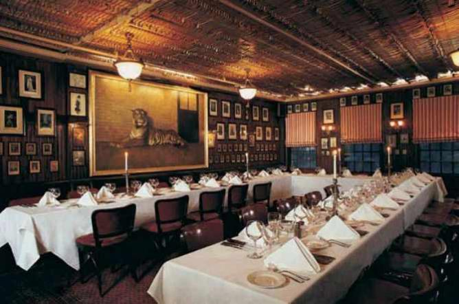 Lamb's Room | Courtesy of Keens Steakhouse