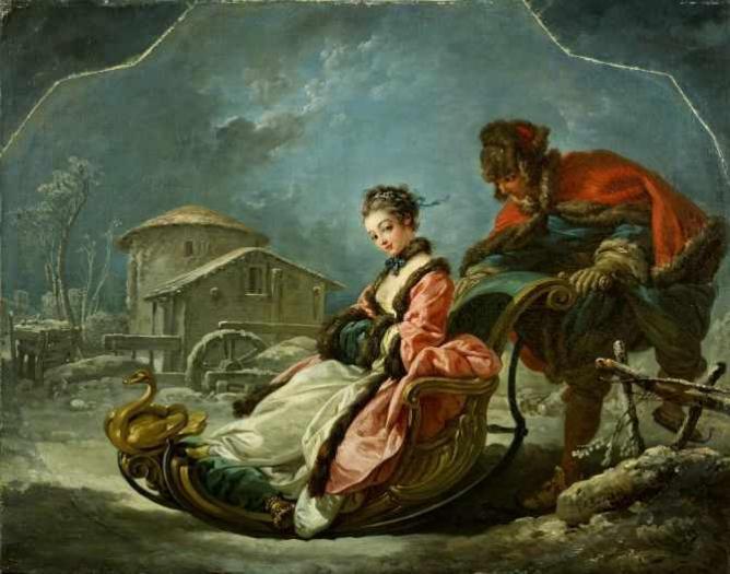 François Boucher The Four Seasons: Winter   Wikimedia Commons
