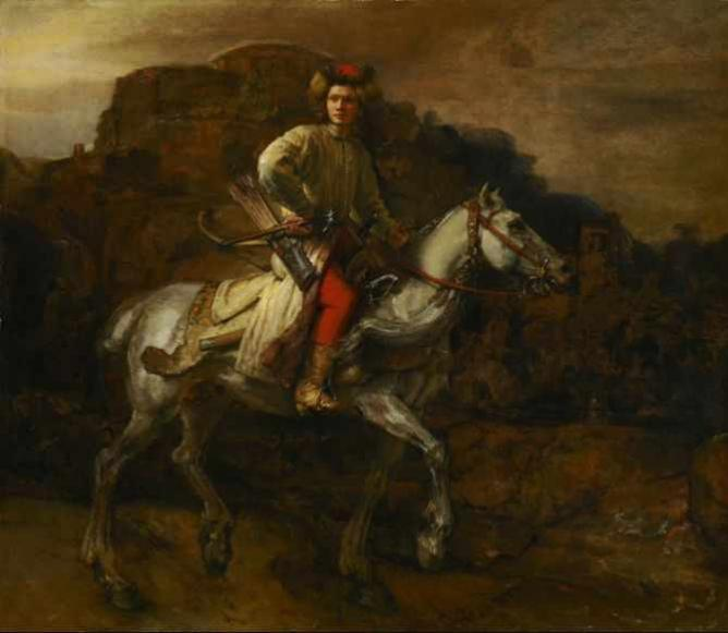 Rembrandt's The Polish Rider in the Frick's West Gallery   Wikimedia Commons