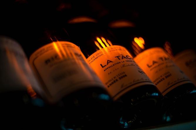 Wine from the prestigious Domaine de la Romanée-Conti at The Burgundy | © Courtesy of The Burgundy
