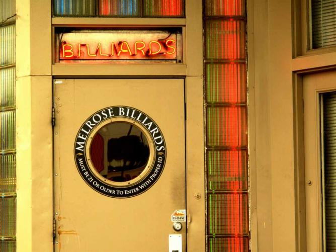 Melrose Billiards | © urbanwoodchuck/Flickr