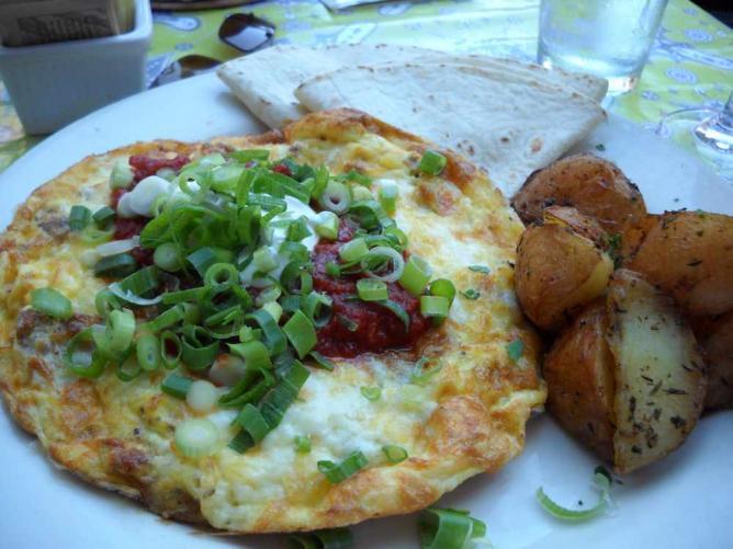 Spanish Frittata at Mother's Bistro & Bar