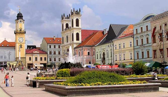 SNP Square, Banska Bystrica | © GSouthFace/WikimediaCommons