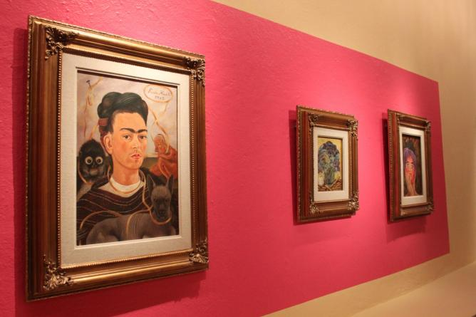 Self Portrait with Small Monkey | Courtesy of Museo Dolores Olmedo