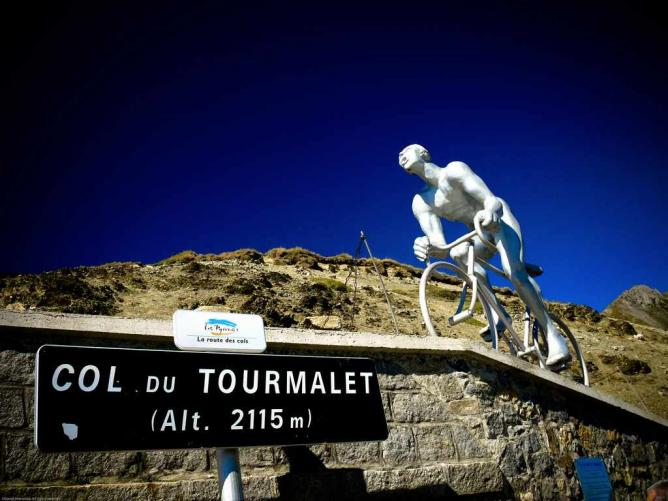 Sommet du Tourmalet | © David/Flickr