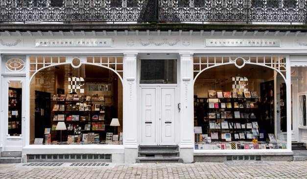 Peinture Fraîche Storefront | Courtesy Librairie Peinture Fraîche