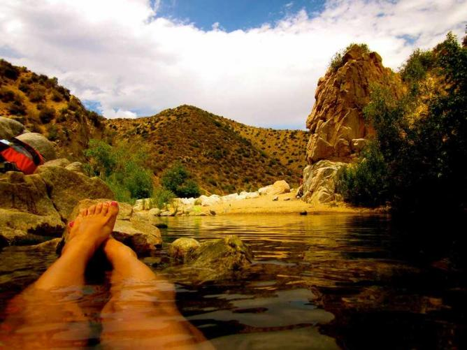 Deep Creek Hot Springs  |  © SparxSparky, yelp user