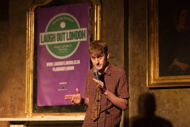 Unusual The Top Comedy Clubs In London With Outstanding James Acaster Performing At Laugh Out London  Xa Laugh Out London With Divine Gardens Rome Italy Also Thai Restaurant Covent Garden In Addition Lindos Gardens Resort And Garden Furniture From Pallets As Well As Millbrook Garden Centre Crowborough Additionally Garforth Cliff Garden Centre From Theculturetripcom With   Outstanding The Top Comedy Clubs In London With Divine James Acaster Performing At Laugh Out London  Xa Laugh Out London And Unusual Gardens Rome Italy Also Thai Restaurant Covent Garden In Addition Lindos Gardens Resort From Theculturetripcom